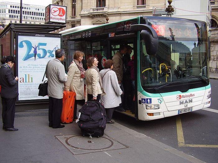 [フランス旅行記] ロワシーバスでの注意点まとめ
