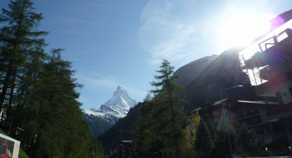 [スイス旅行記] マッターホルンの麓・ツェルマットを散策してきた