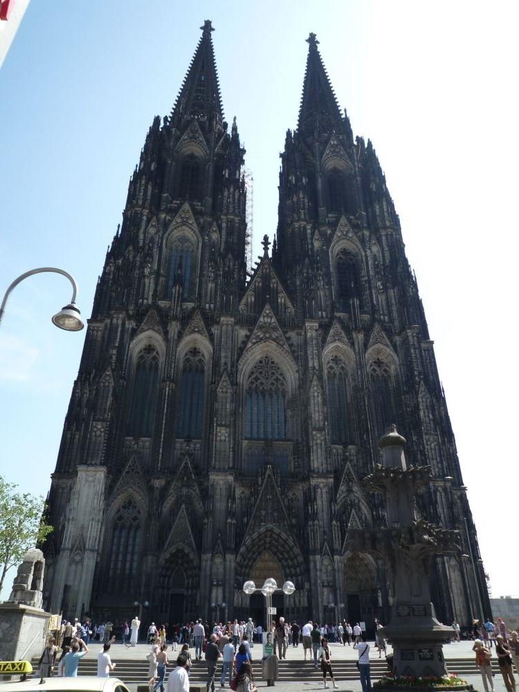 [ドイツ旅行記] 世界遺産ケルン大聖堂を観光してきた!