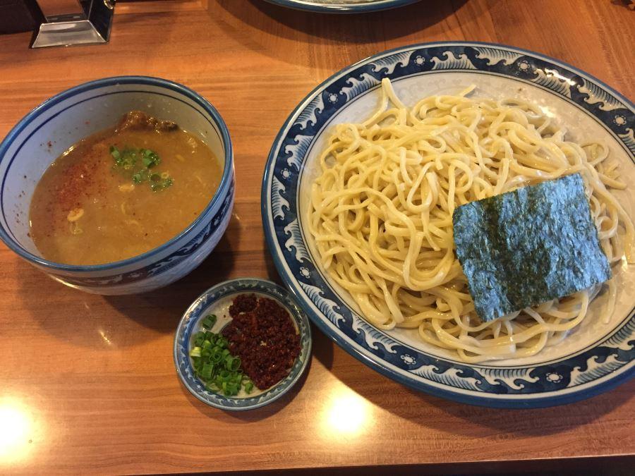 五反田にある「浜屋」のつけ麺・エビ辛しつけそばが美味い!/東京の人気店
