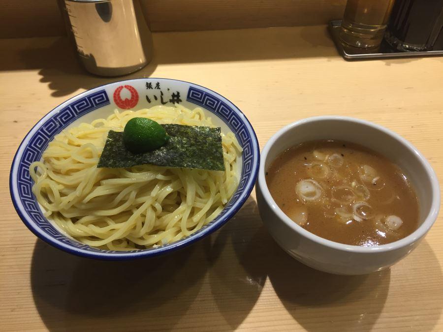 五反田にある「いし井」の魚介豚骨系つけ麺が美味い!/東京の人気店