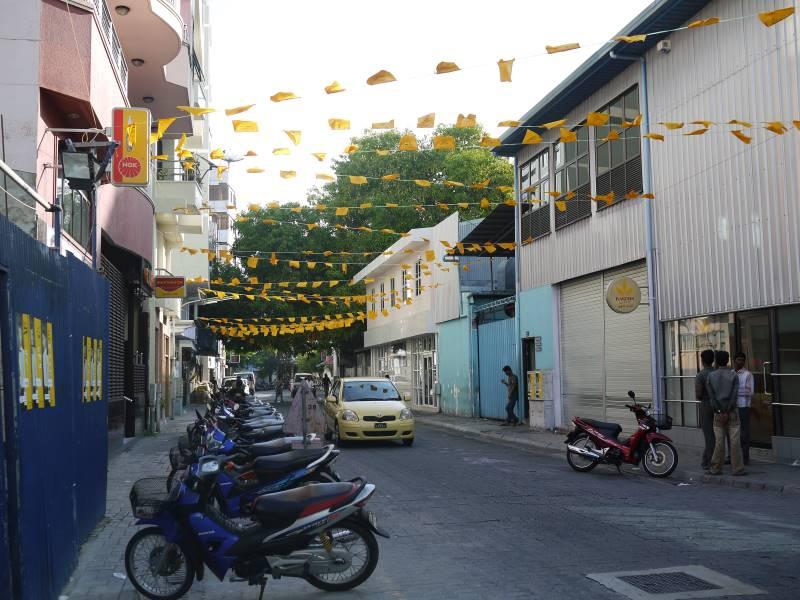 モルディブの首都マレを歩いて観光