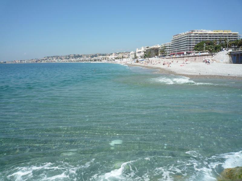 地中海はすこし冷たかった