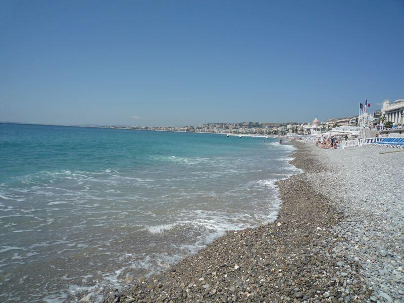 あの地中海が目の前にある