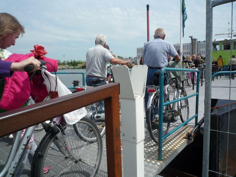 自転車大国オランダ