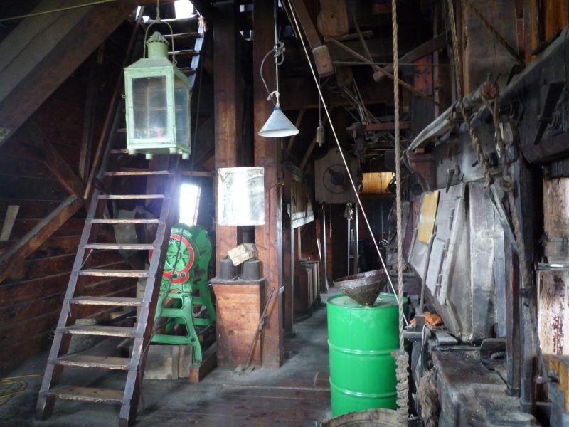 風車建物の内部