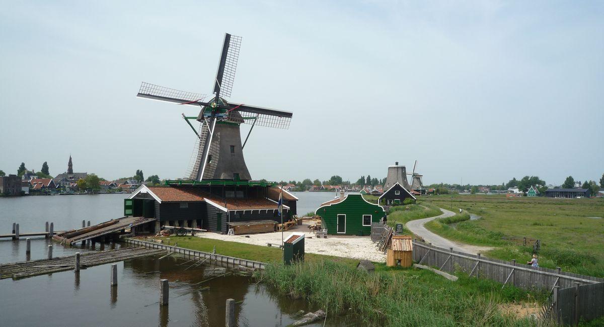 オランダの風車村・ザーンセ・スカンス