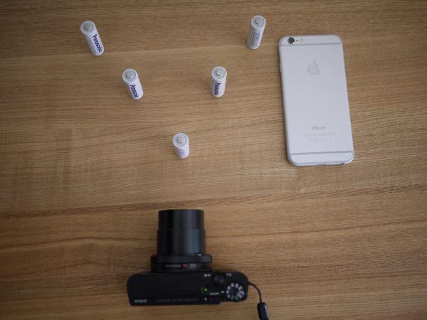 背景をぼかした写真を撮る方法をするためのテスト