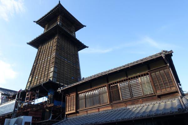 川越の観光名所・時の鐘