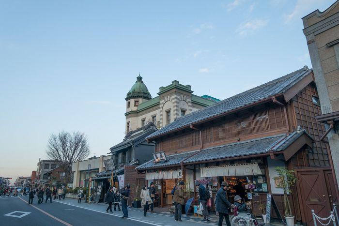 江戸時代に川越藩の城下町として栄えた都市で、「小江戸」の別名を持つ埼玉県の川越市