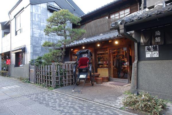 川越は京都みたいな感じでいい雰囲気