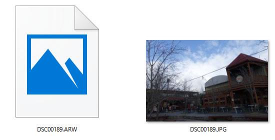 JPEG画像と合わせてRAW画像も保存されるようになる