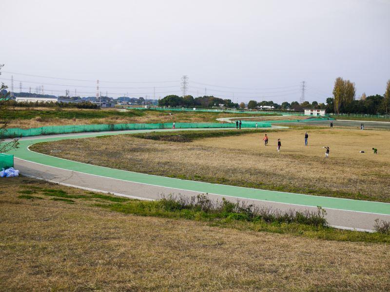 自転車やローラーブレードの練習コース