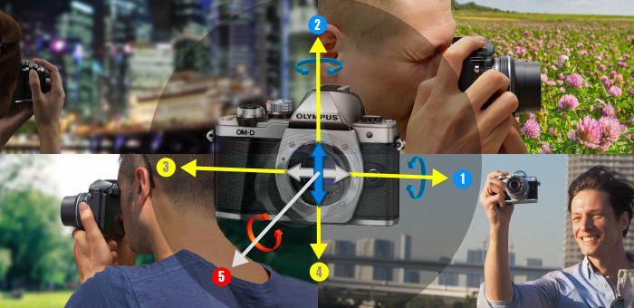 ミラーレス一眼カメラ初心者に心強い5軸手ブレ補正