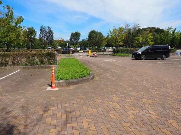 アンデルセン公園の駐車場