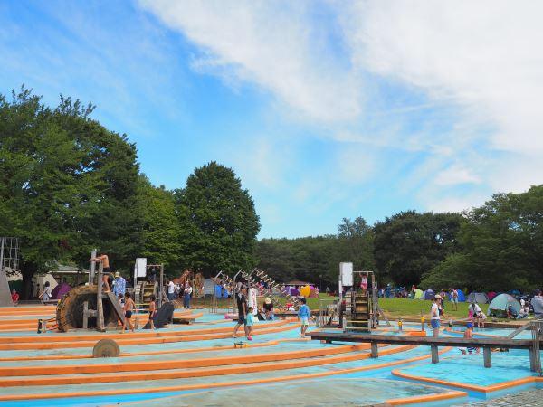 アンデルセン公園の「アルキメデスの泉」