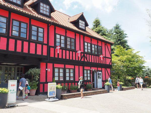 デンマーク風の建物