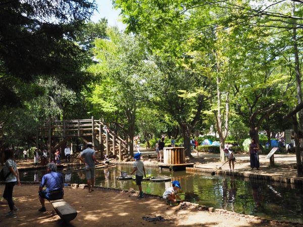 アンデルセン公園のアスレチック