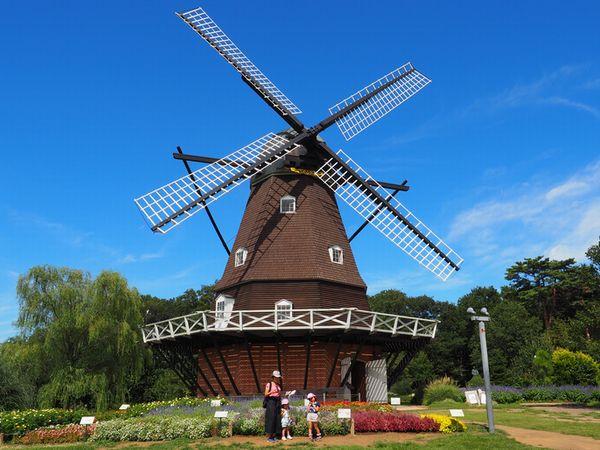 アンデルセン公園の風車